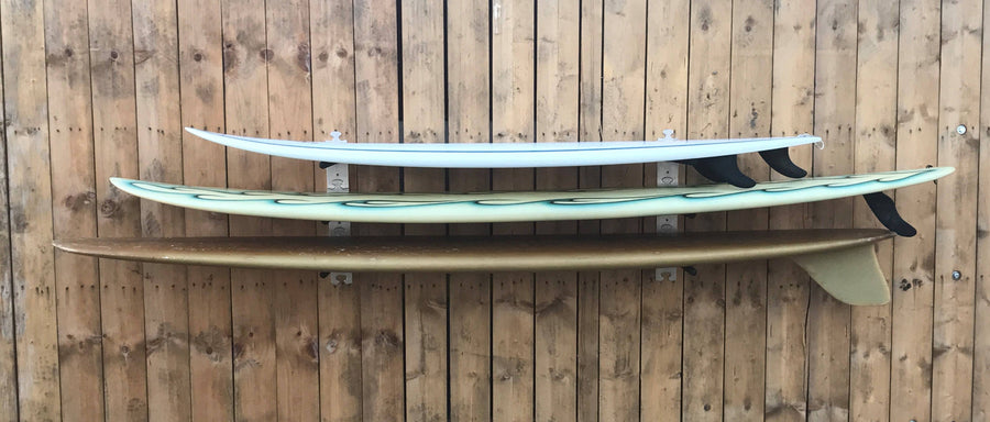 Surfboard wall rack by Puna Surf Company - surferswarehouse