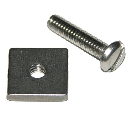 LONGBOARD REPLACEMENT HEX SCREW AND PLATE