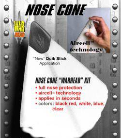 War head nose cone  rubber surfboard tip