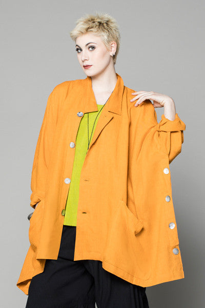 Ginza Jacket in Apricot Roma