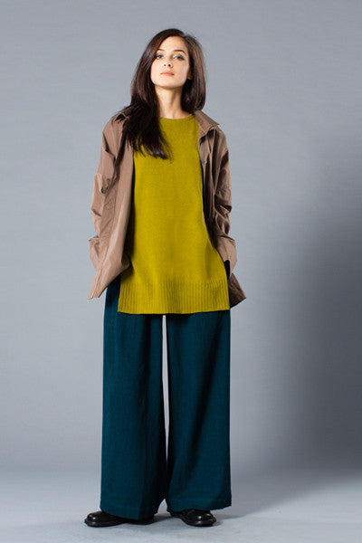 Shown w/ Classic Shirt and Palazzo Pant