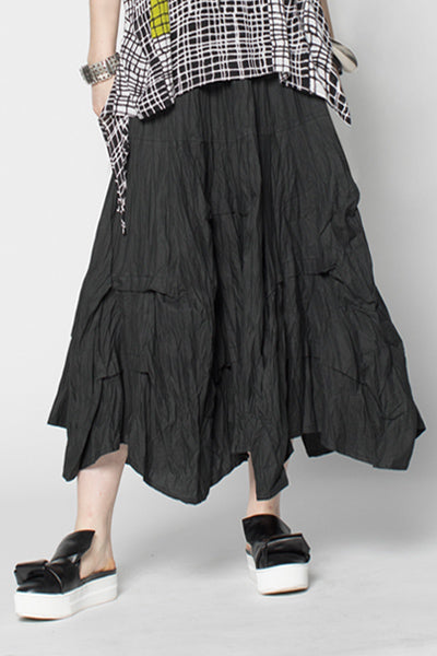 Manifold Skirt in Black Carnaby