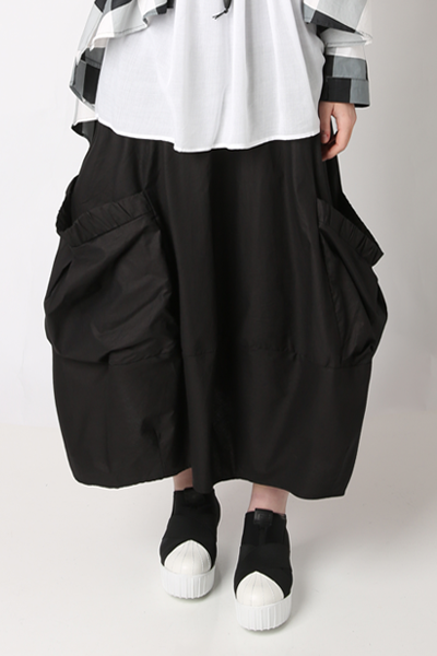 Natalie Skirt in Black Carnaby