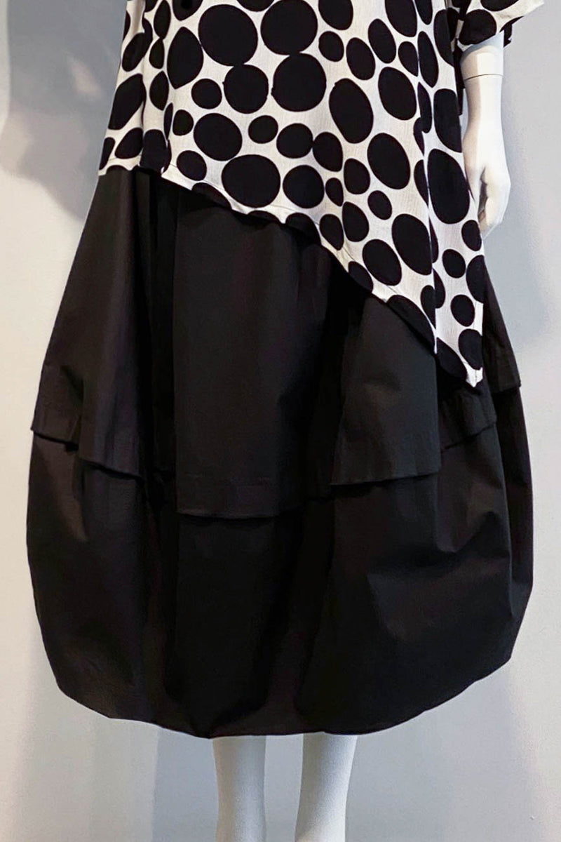 Miami Skirt in Black Carnaby
