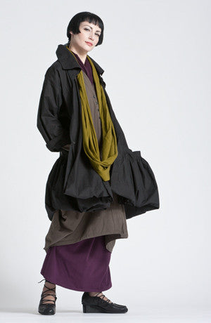Shown w/ Escape Skirt, Odyessy Coat and Circle Scarf