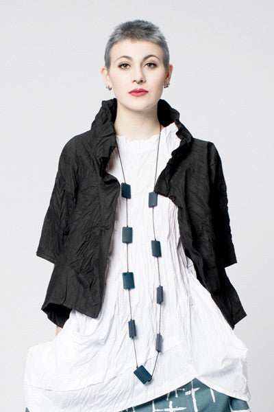 Olivia Jacket in Black Carnaby