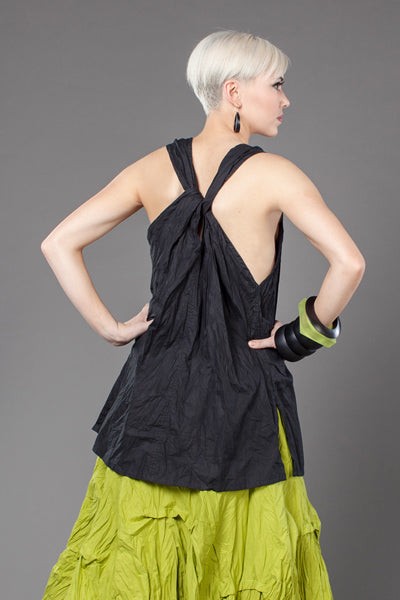 Shown from the back