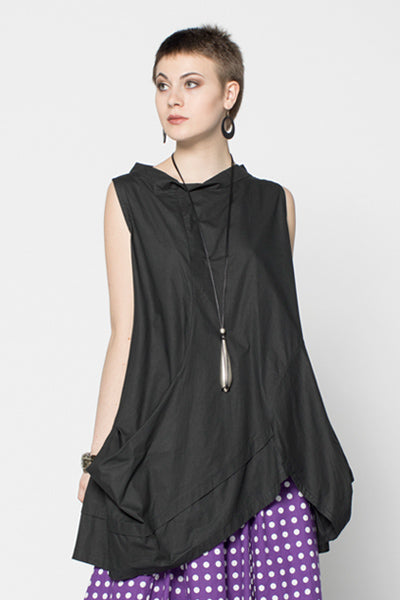 Meteor Tunic in Black Carnaby