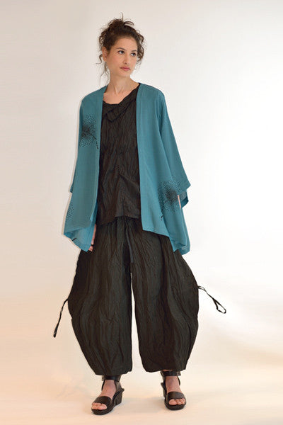 Shown w/ Balloon Pant and Short Kimono Jacket
