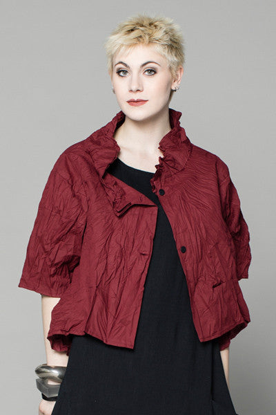 Olivia Jacket in Bordeaux Carnaby