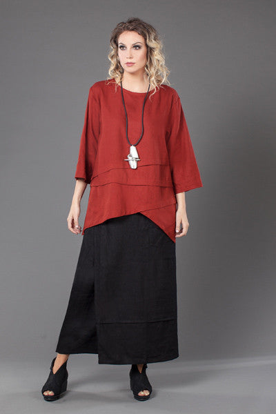 Shown w/ Pocket Overlap Skirt