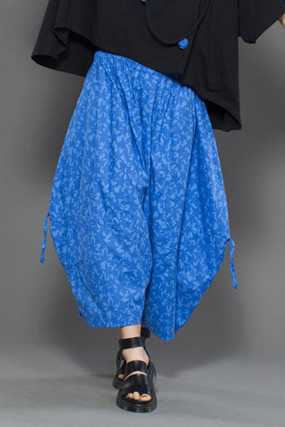 Balloon Pant in Blue Stars Carnaby
