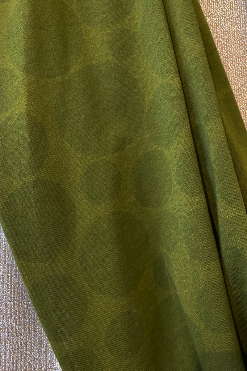 Circle Scarf in Olive Bellini Tokyo