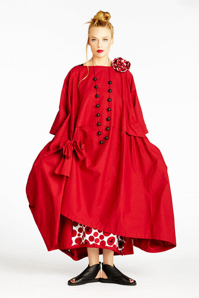 Ono Dress in Cherry Carnaby