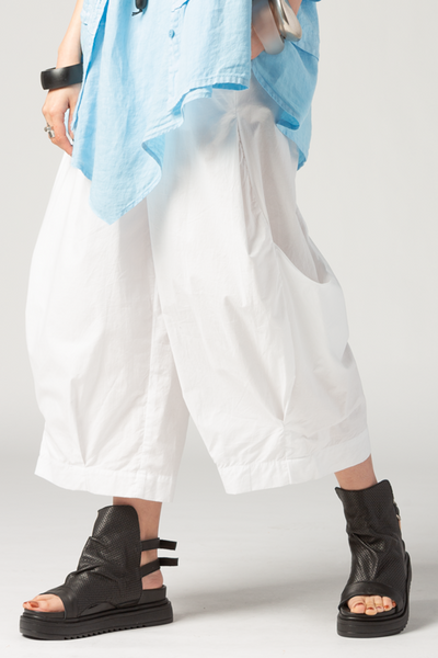 Meteor Pant in White Carnaby