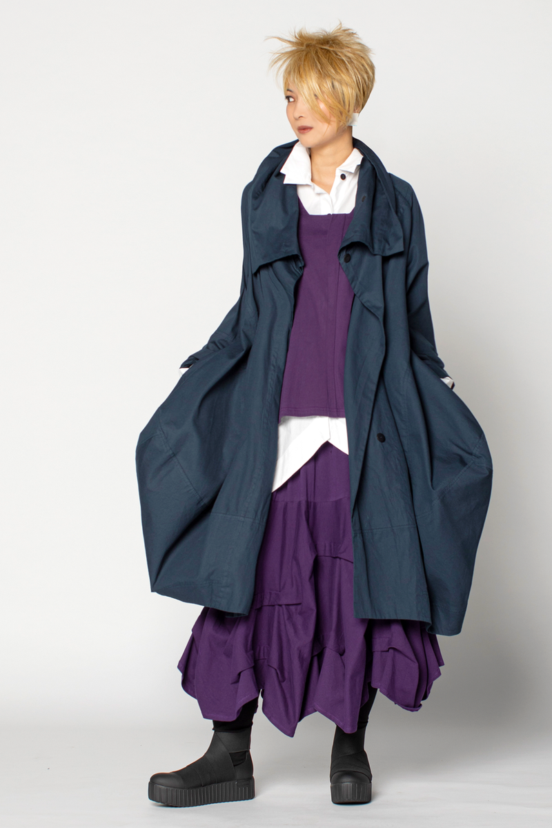 Shown w/ Wing Top, Manifold Skirt, and Lancaster Coat