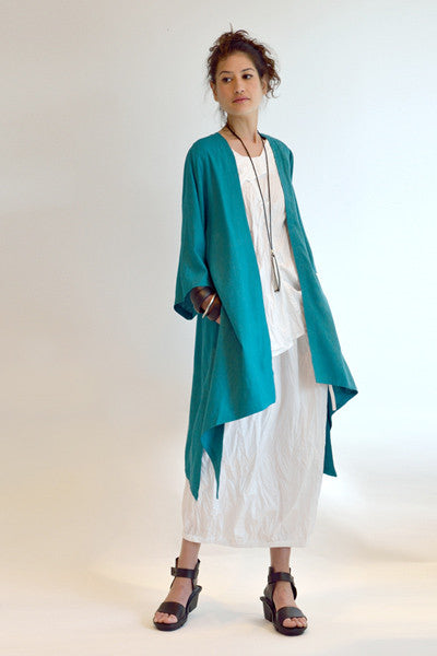 Shown w/ Tunnel Skirt and Long Kimono Jacket