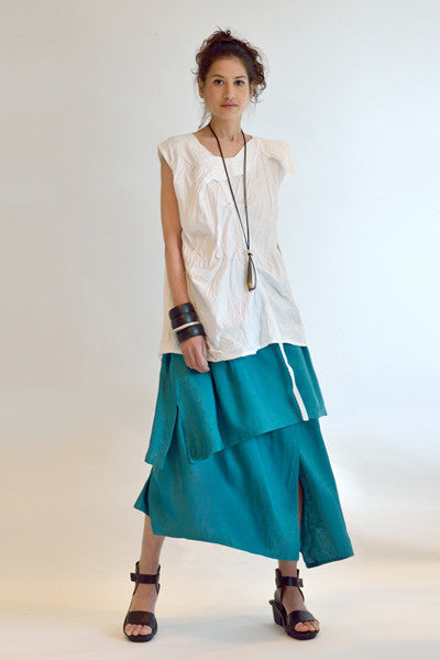 Shown w/ Asymmetric Skirt