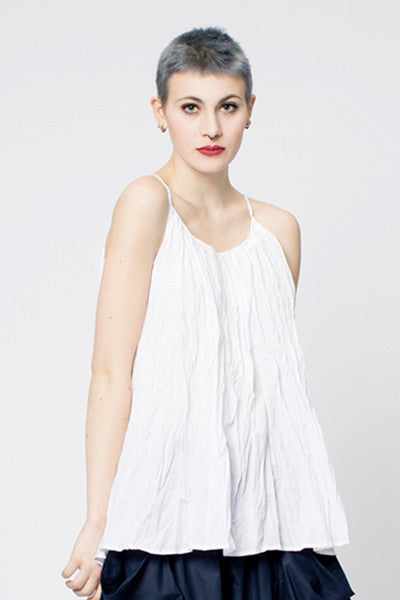 Sanibel Top in White Carnaby