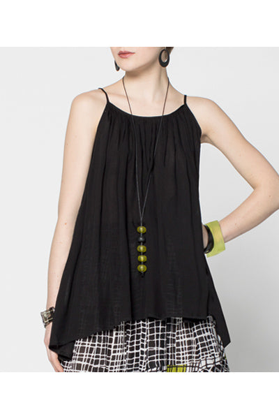 Sanibel Top in Black Delphi
