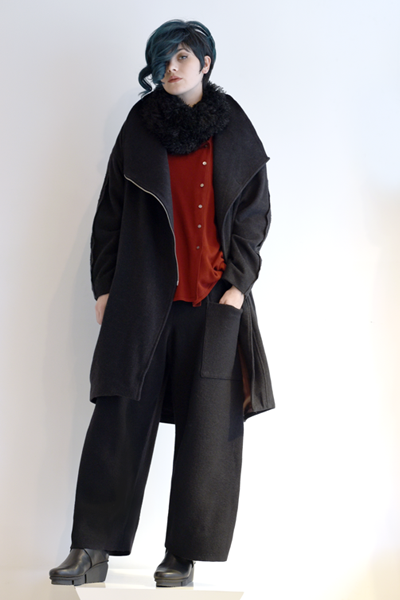 Shown w/ Mali Pant, Art Point Wool Coat, and Art Point Circle Scarf