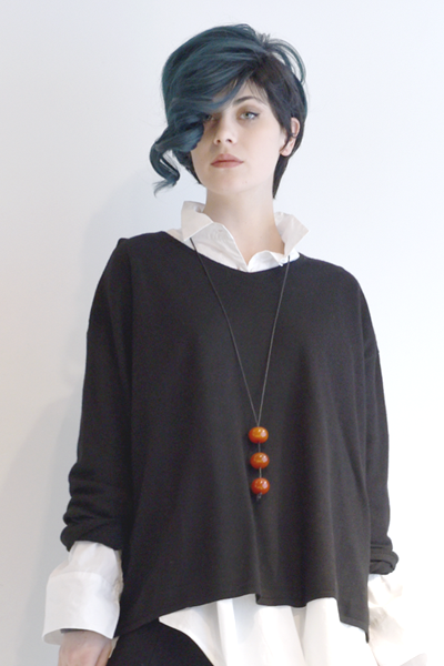 EC Brittany Sweater in EC Black