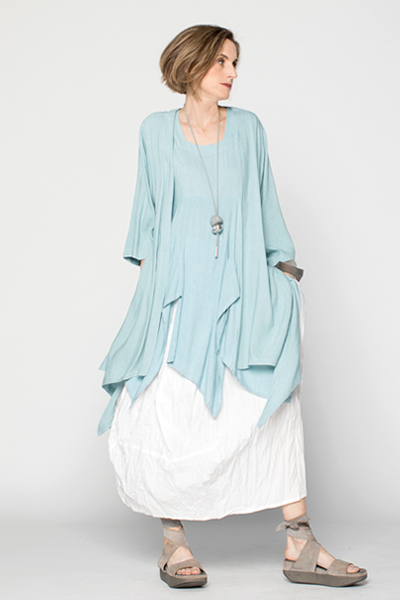 Shown w/ Long Kimono Jacket and Uppsala Skirt