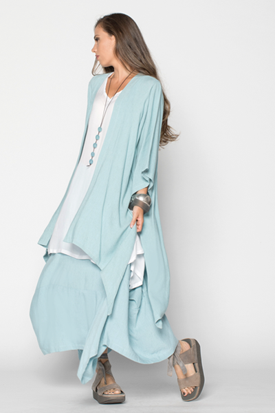 Shown w/ Tahiti Top and Long Kimono Jacket