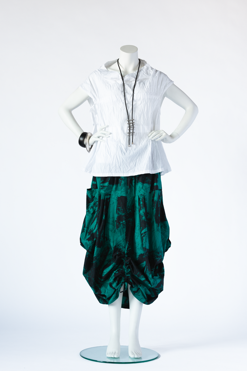 Amazing Skirt in Emerald Print Carnaby