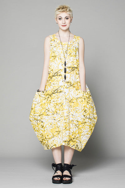 Edi Dress in Forsythia Carnaby