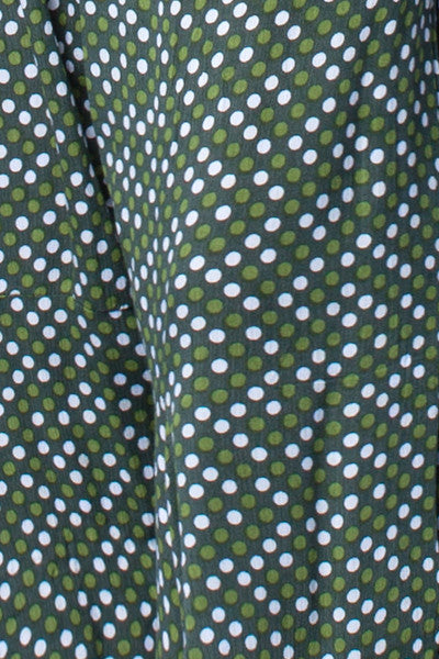 Odyssey Pant in Green Dots Crinkle