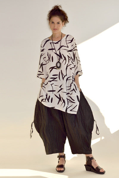 Nagano Tunic in Graffiti Crinkle
