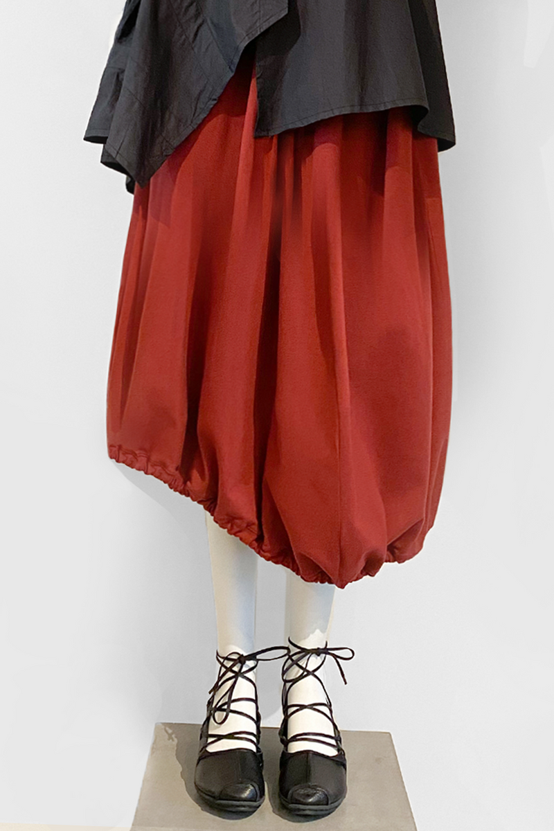 Ravello Skirt in Cranberry Tokyo