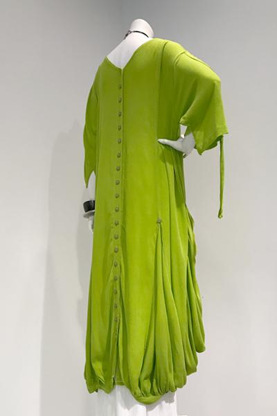 Fab Dress in Lime Crinkle