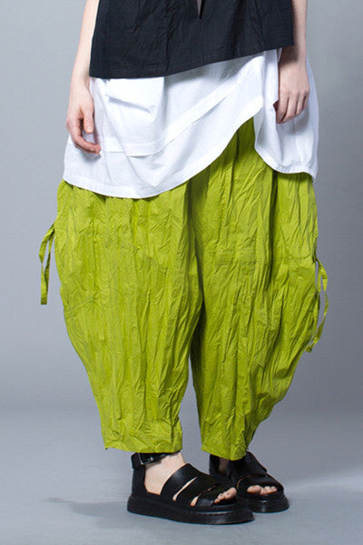 Balloon Pant in Lime Carnaby