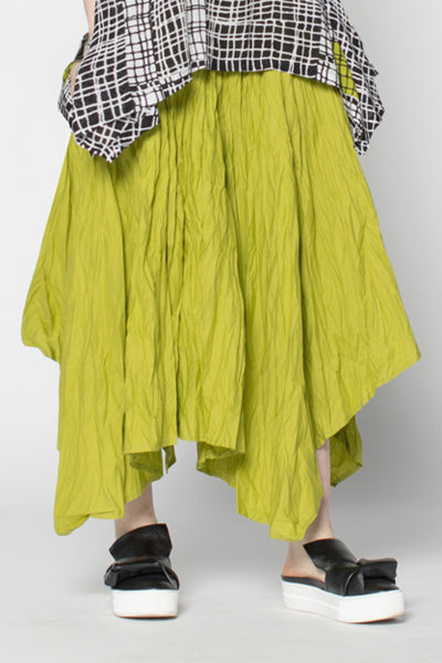 Moka Skirt in Lime Carnaby