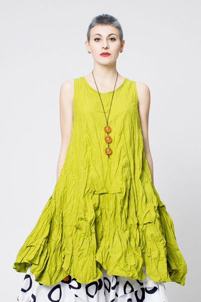 Manifold Dress in Lime Carnaby