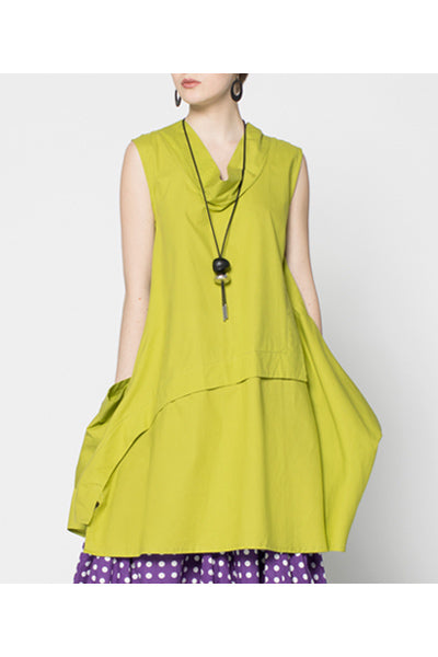 Oslo Dress in Lime Carnaby