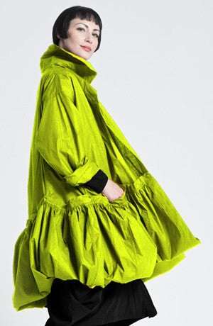 Fab Coat in Lime Carnaby