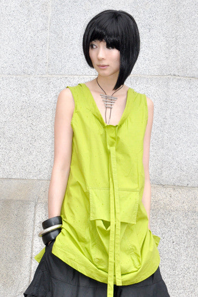 Cool Tank in Lime Carnaby