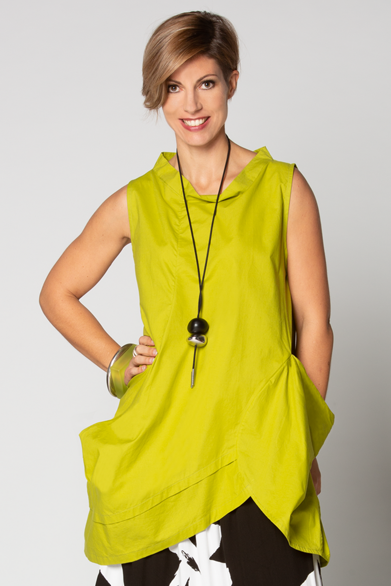 Meteor Tunic in Carnaby LIME