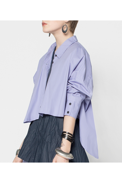 Selavie Shirt in Lilas Carnaby