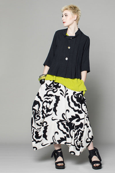 Shown w/ Odyssey Skirt and Pleat Jacket