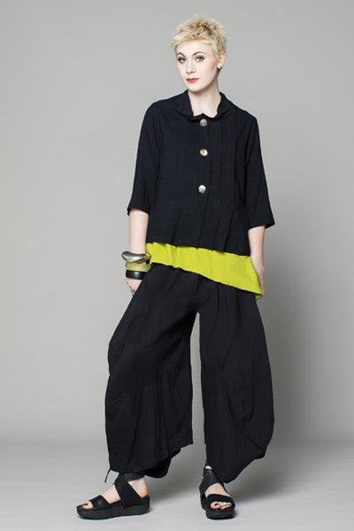 Shown w/ Odyssey Pant and Pleat Jacket