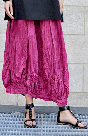 Fab Skirt in Magenta Carnaby