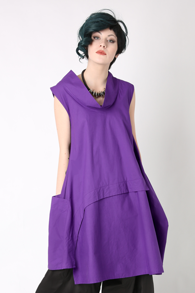 Oslo Dress in Muscari Carnaby