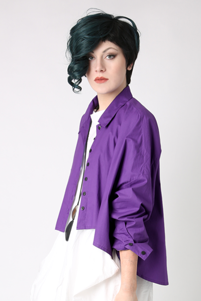 Selavie Shirt in Muscari Carnaby
