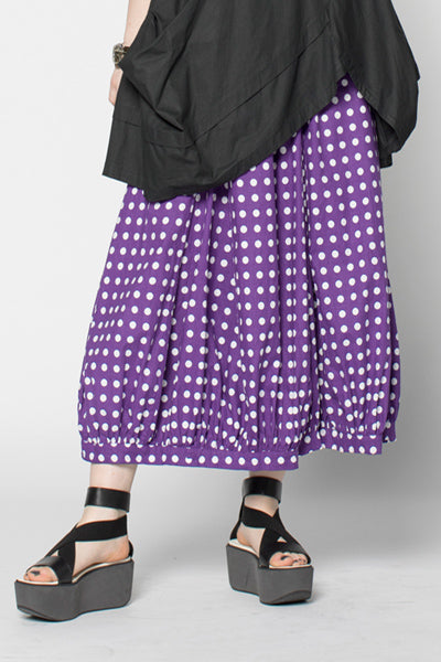 Fab Skirt in Muscari Polka Dots Carnaby