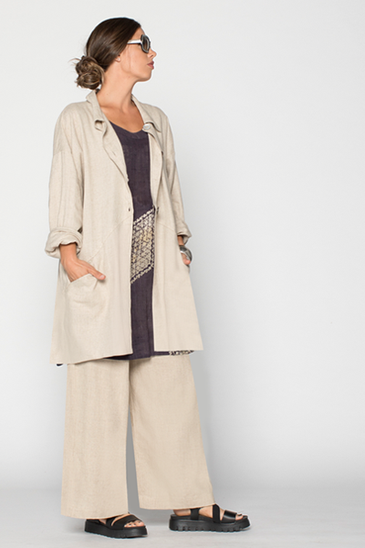 Shown w/ Leah Tunic and Back Pocket Jacket