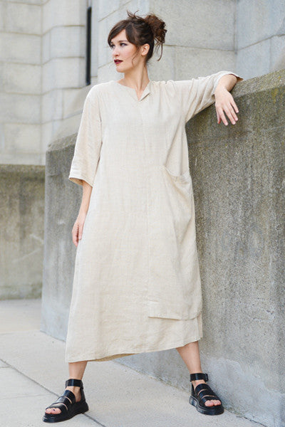 Abstract Dress in Natural Roma